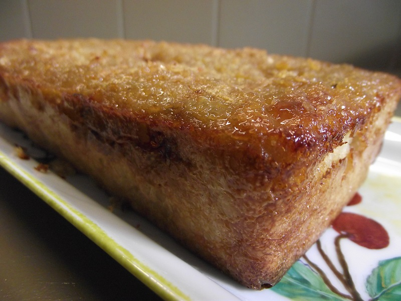 Gâteau aux flocons de quinoa pour le petit-déjeuner