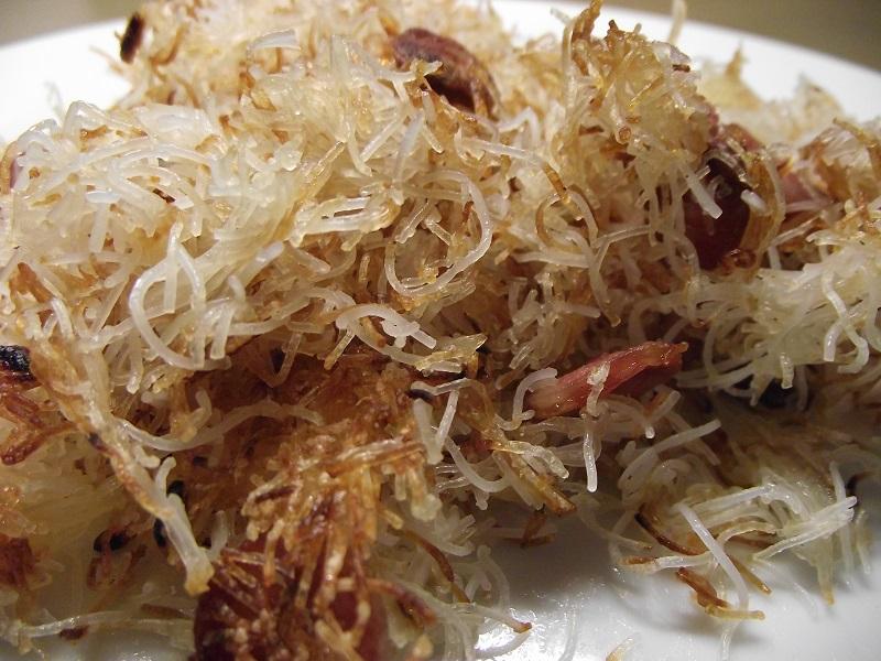 Vermicelles de riz croustillantes naturellement sans gluten