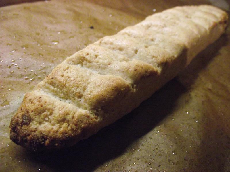 Pain sans gluten et sans levure après cuisson au four
