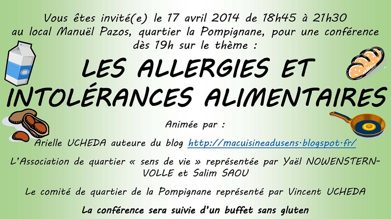 Conférence sans gluten Montpellier