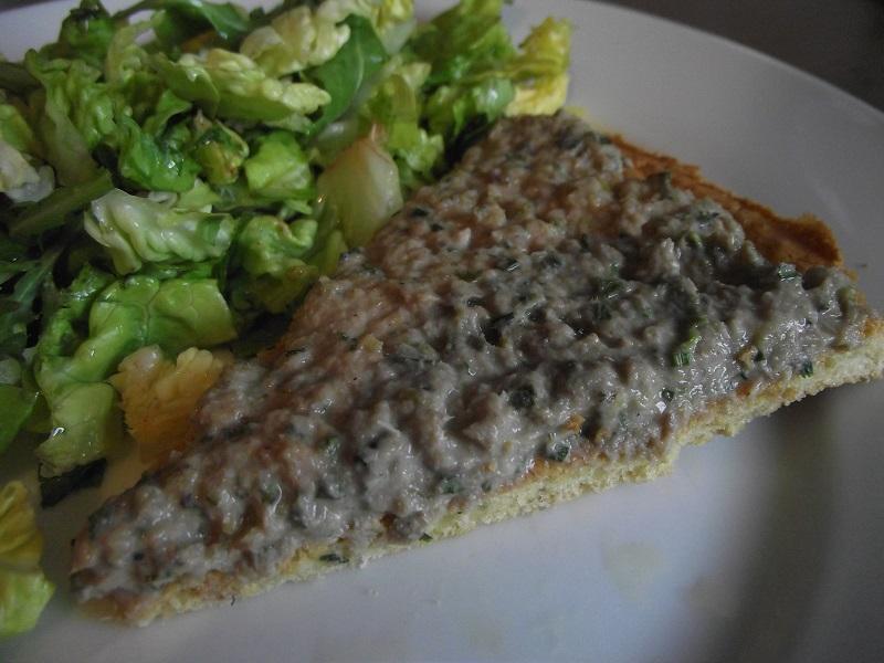Tarte la cr me de sardine sans gluten ma cuisine a du sens - Tarte aux poireaux sans creme ...
