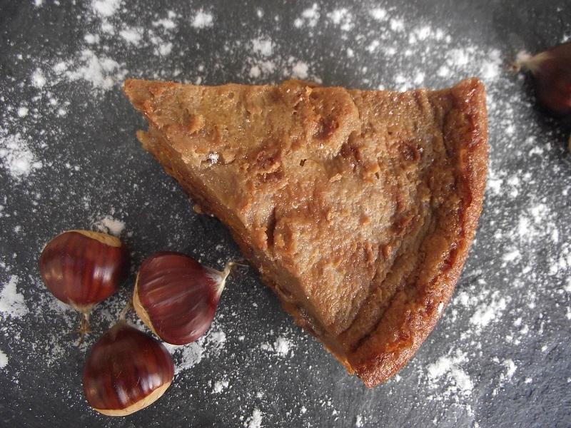 flan pâtissier sans gluten sans lactose au lait de châtaigne