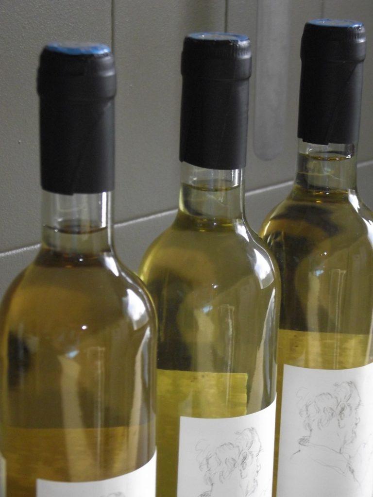 Vin blanc en biodynamie