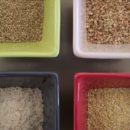 Céréales sans gluten Riz mille, sarrasin quinoa