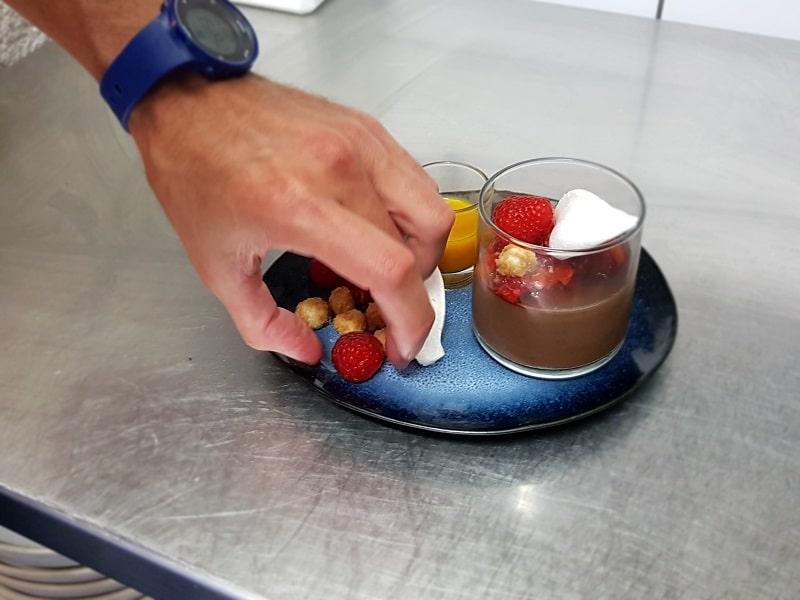verrine chocolat sans lactose