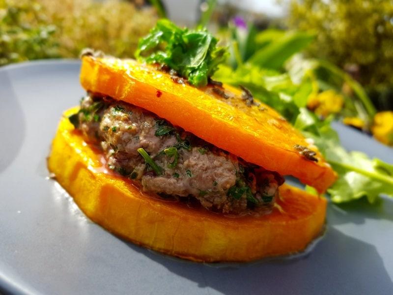 hamburger sans gluten