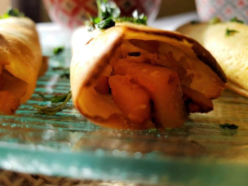 crêpes thaï