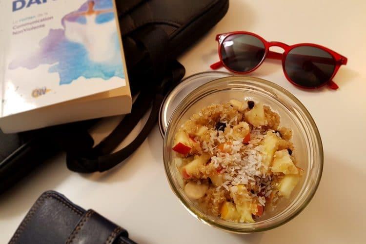 petit-déjeuner au quinoa