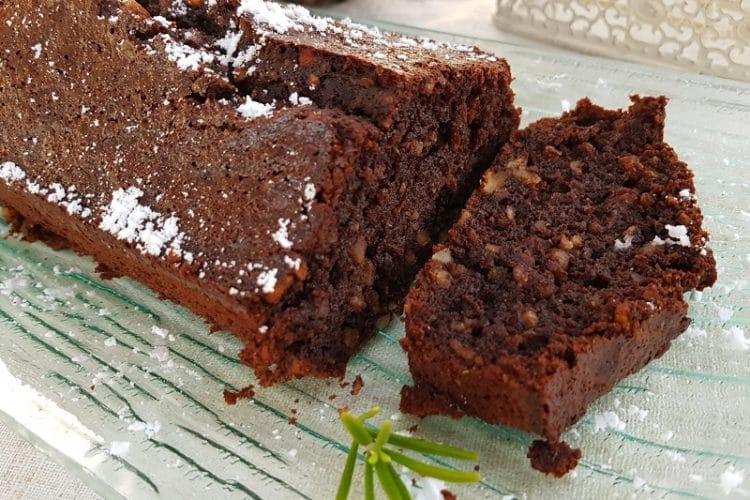 Gâteau chocolat sans gluten sans lactose sans sucre