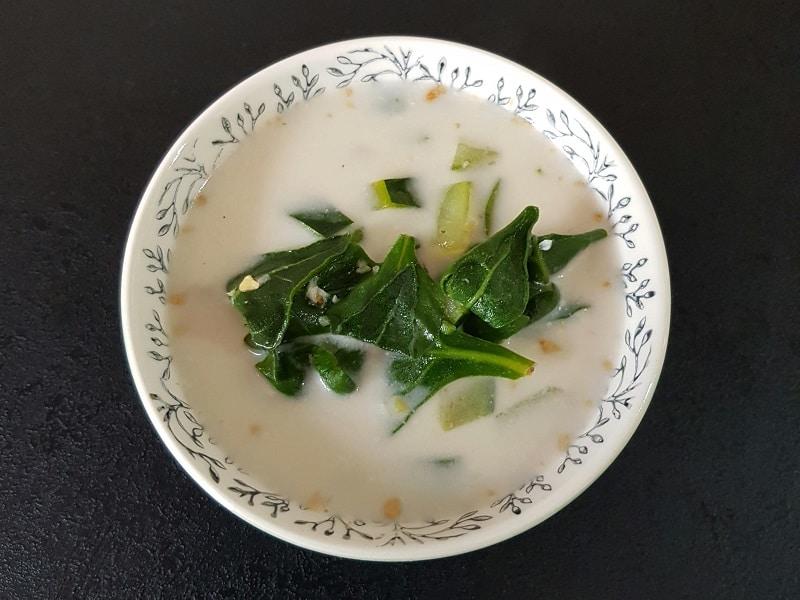 Soupe au lait de coco recettes sans gluten sans lactose