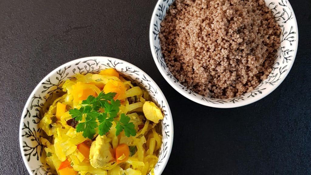 couscous sans gluten à la fleur d'oranger de ma cuisine a du sens