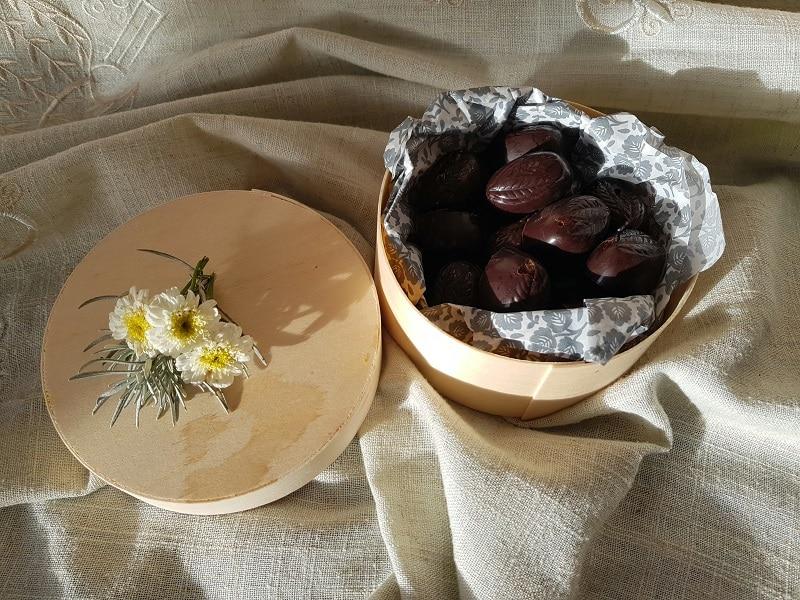 Chocolats de Noël sans gluten sans lactose et sans sucre de canne blog de recettes de cuisine
