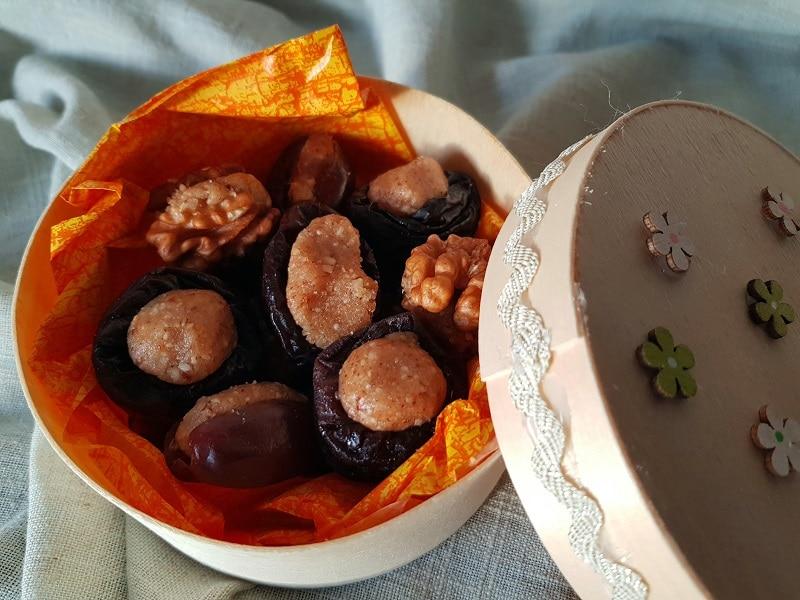 Fruits déguisés dessert Noël 13 desserts noël provençal sans gluten sans lactose sans sucre de canne