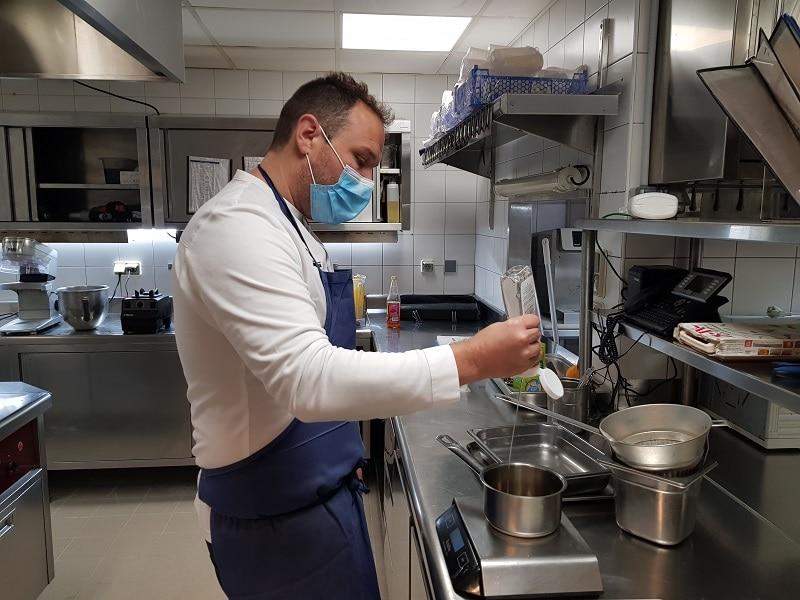 Fabien Manzoni défi de chefs sans gluten sans lactose