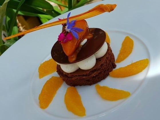 Gâteau vaporeux de Fabien Manzonni La grée des Landes sans gluten sans lactose sans sucre de canne pour la fête des mères